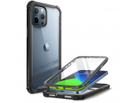 Husa Plastic - TPU Supcase Iblsn Ares pentru Apple iPhone 12 Pro Max, Full Cover, Neagra, Blister