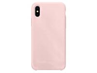 Husa TPU OEM Pure Silicone pentru Samsung Galaxy A41, Roz Aurie, Bulk