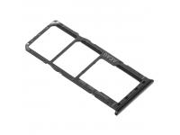 Suport Card - Suport SIM Samsung Galaxy M21, Negru