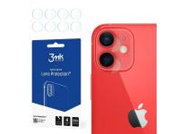 Folie Protectie Camera spate 3MK pentru Apple iPhone 12, Set 4 buc, Plastic