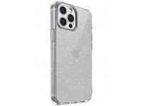 Husa TPU UNIQ LifePro Tinsel pentru Apple iPhone 12 / Apple iPhone 12 Pro, Glitter, Transparenta