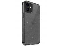 Husa TPU UNIQ LifePro Tinsel pentru Apple iPhone 12 mini, Glitter, Gri