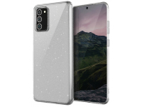 Husa TPU UNIQ LifePro Tinsel pentru Samsung Galaxy Note 20 N980, Glitter, Transparenta