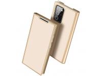 Husa Poliuretan DUX DUCIS Skin Pro pentru Samsung Galaxy Note 20 Ultra N985 / Samsung Galaxy Note 20 Ultra 5G N986, Aurie