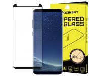 Folie Protectie Ecran WZK pentru Samsung Galaxy S9+ G965, Sticla securizata, Full Face, Full Glue, 5D, Neagra