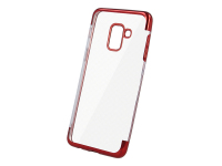 Husa TPU OEM Electro pentru Xiaomi Mi 9T / Xiaomi Mi 9T Pro / Redmi K20, Rosie Transparenta, Bulk