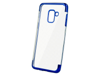 Husa TPU OEM Electro pentru Xiaomi Redmi 9, Albastra Transparenta, Bulk