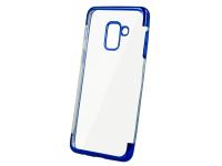 Husa TPU OEM Electro pentru Xiaomi Redmi Note 9 Pro / Xiaomi Redmi Note 9S, Albastra Transparenta, Bulk