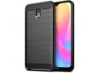 Husa TPU OEM Carbon pentru Xiaomi Redmi 8A, Neagra
