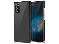 Husa Plastic - TPU UNIQ Combat Antisoc pentru Samsung Galaxy Note 20 N980, Neagra, Blister