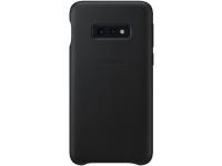 Husa Piele Samsung Galaxy S10e G970, Leather Cover, Neagra, Resigilat, Blister EF-VG970LB