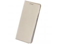 Husa Piele OEM Smart Skin pentru Samsung Galaxy A20e, Aurie, Bulk