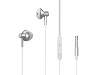 Handsfree Casti In-Ear XO Design EP19, Cu microfon, 3.5 mm, Alb, Blister