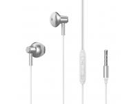 Handsfree Casti In-Ear XO Design EP19, Cu microfon, 3.5 mm, Alb