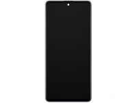 Display - Touchscreen Samsung Galaxy A51 5G A516, Cu Rama, Negru GH82-23100A