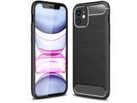 Husa TPU OEM Carbon pentru Apple iPhone 12 mini, Neagra