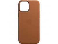 Husa Piele Apple iPhone 12 mini, MagSafe, Maro, Blister MHK93ZM/A
