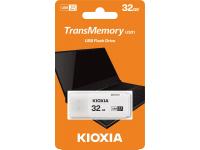 Memorie Externa KIOXIA U301, 32Gb, USB 3.2, Alba, Blister LU301W032GG4