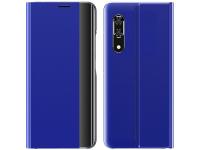 Husa Textil OEM New Sleep Case pentru Samsung Galaxy A51 5G A516, Albastra, Bulk
