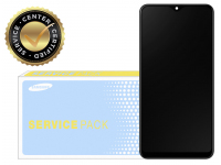 Display - Touchscreen Samsung Galaxy A10 A105, Cu Rama, SUB 0.2, Negru GH82-19367A