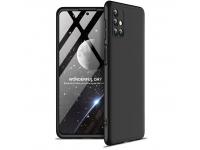 Husa Plastic GKK Full Cover pentru Samsung Galaxy M31s, Neagra, Bulk