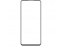 Folie Protectie Ecran OEM pentru Xiaomi Redmi K30 / Xiaomi Redmi K30 5G, 10D, 9H, Sticla securizata, Full Face, Full Glue, Neagra, Blister