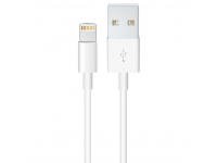 Cablu Date si Incarcare USB la Lightning OEM, 0.5 m, Alb, Bulk