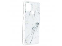 Husa TPU Forcell Marble 1 pentru Samsung Galaxy A21s, Multicolor, Bulk