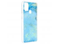 Husa TPU Forcell Marble 3 pentru Samsung Galaxy A21s, Multicolor, Bulk