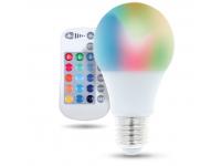 Bec LED Forever, E27 A60 RGB, 9W, RC