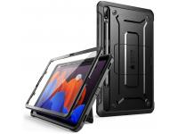 Husa Tableta Plastic - TPU Supcase UNICORN BEETLE pentru Samsung Galaxy Tab S7 Plus T970, Neagra, Blister