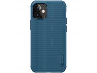 Husa Plastic Nillkin Super Frosted pentru Apple iPhone 12 mini, Albastra, Blister