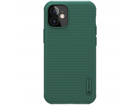 Husa Plastic Nillkin Super Frosted pentru Apple iPhone 12 mini, Verde, Blister
