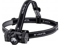 Lanterna Varta H20 Pro INDESTRUCTIBLE, Frontala Outdoor, LED/4W/350lm, IP67, Gri