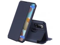 Husa Piele DUX DUCIS Skin X pentru Samsung Galaxy A21s, Bleumarin, Blister