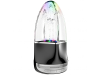 Boxa Bluetooth Dudao Y11, Water Fountain, RGB LED, Neagra