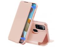 Husa Piele DUX DUCIS Skin X pentru Samsung Galaxy A21s, Roz, Blister