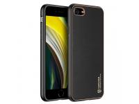 Husa TPU - Piele DUX DUCIS Yolo pentru Apple iPhone 7 / Apple iPhone 8 / Apple iPhone SE (2020), Neagra, Blister