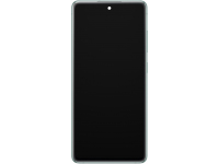 Display - Touchscreen Samsung Galaxy S20 FE G780, Cu Rama, Alb GH82-24220B