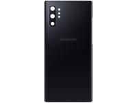 Capac Baterie - Geam Camera Spate Samsung Galaxy Note 10+ N975, Negru, Second Hand