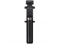 Selfie Stick Huawei CF15 / AF15 Pro, Cu Trepied si Declansator Camera Bluetooth, Negru 55033365