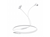 Handsfree Casti In-Ear Borofone Melody BM20, Cu microfon, 3.5 mm, Alb