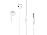 Handsfree Casti In-Ear XO Design EP28, Cu microfon, 3.5 mm, Alb