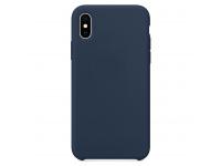 Husa TPU OEM Pure Silicone pentru Samsung Galaxy M51, Bleumarin