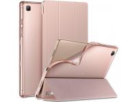 Husa Tableta TPU INFILAND SMART STAND pentru Samsung Galaxy Tab A7 10.4 (2020), Roz, Blister