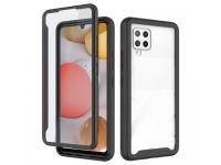 Husa Plastic - TPU Tech-Protect DEFENSE360 pentru Samsung Galaxy A42 5G, Neagra, Bulk