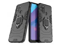 Husa TPU OEM Defender Armor pentru Samsung Galaxy A41, Neagra