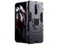 Husa TPU OEM Defender Armor pentru Xiaomi Redmi 9, Neagra, Bulk