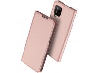 Husa Poliuretan DUX DUCIS Skin Pro pentru Samsung Galaxy A42 5G, Roz Aurie, Blister