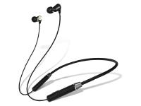 Casti Bluetooth Lenovo HE08, Neckband Sport, Negre, Blister